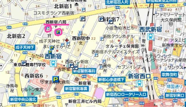 ブラジリアンワックス,男性,新宿,東京,近隣駐車場,コインパーキング,ワクスペリエンス